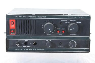 2182 KHz Watchkeeping Receiver Type DC-300 D HEN-ZV-21-6094 NEW