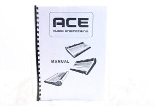 Audio Engineering Manual EV-F-5889
