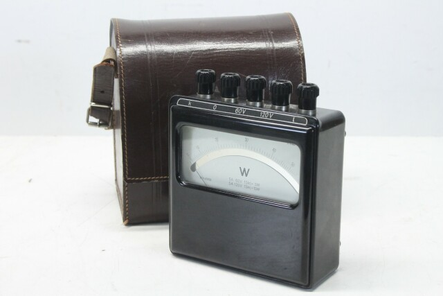 60 Watt Meter in Leather Case KAY B-13-14014-bv