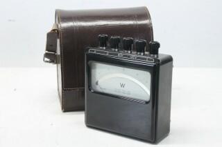 60 Watt Meter in Leather Case KAY B-13-14014-bv 1