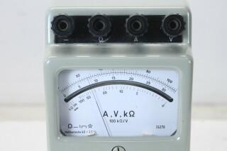 Ampere, Volt and Kilo Ohm Meter KAY C/D-13896-bv 4