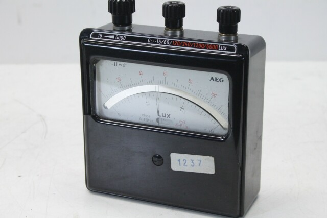 LUX Meter - Light Meter (DAMAGED) KAY C/D-13894-bv
