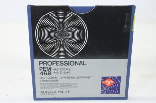 "Professional PEM 468Master Tape 1/4"" 2400 ft. (No. 8) EV-P-4985"