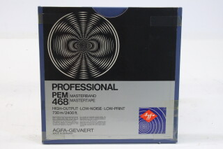 "Professional PEM 468 Master Tape 1/4"" 2400 ft. (No. 1) EV-P-4973"