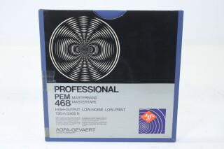 "Professional PEM 468 Master Tape 1/4"" 2400 ft. (No. 2) EV-P-4975"