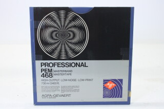 "Professional PEM 468 Master Tape 1/4"" 2400 ft. (No. 3) EV-P-4976"