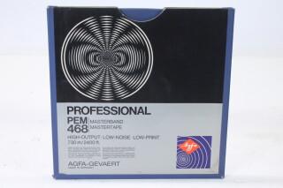 "Professional PEM 468 Master Tape 1/4"" 2400 ft. (No. 6) EV-P-4981"