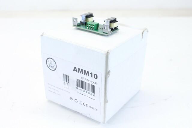 AKG AMM10 Trafo Out - Output Transformer for Super Modular Mixer Series NOS! AXL S-10258-z