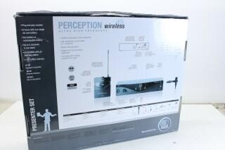 SR45 Preception Wireless - With C111LP Microphone Extra - Freq 530-559 MHz AXL2 F-12629-BV