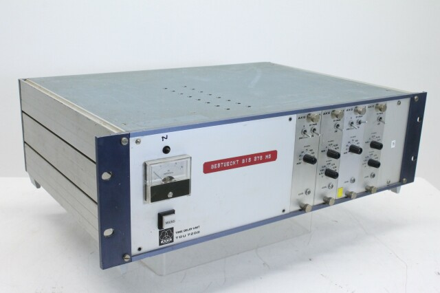 TDU 7202 Time Delay unit with 2x T72/1 and 2x T 72/3 modules MR RK15-9267-x