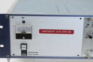 TDU 7202 Time Delay unit with 2x T72/1 and 2x T 72/3 modules MR RK15-9267-x 4