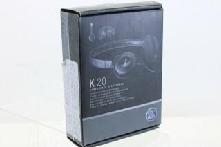K20 High-Performance Stereo Conference Headphones AXL5-WVK-12760-BV 2