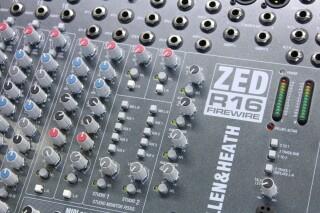 ZED R16 Firewire Console With Firewire JOE VLR-14264-BV 7