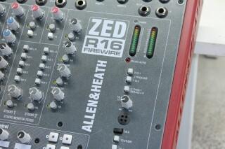 ZED R16 Firewire Console With Firewire JOE VLR-14264-BV 8