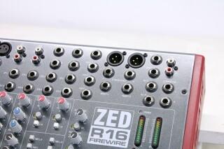 ZED R16 Firewire Console With Firewire JOE VLR-14264-BV 9
