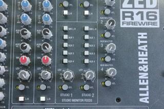 ZED R16 Firewire Console With Firewire JOE VLR-14264-BV 11