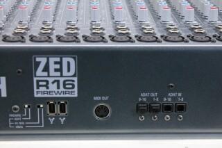 ZED R16 Firewire Console With Firewire JOE VLR-14264-BV 15