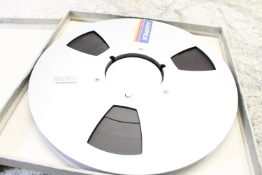 """456 Grand Master 1/2"""" tape 10.5"""" metal reel USED TCE-ZV3-6749 NEW 2"""