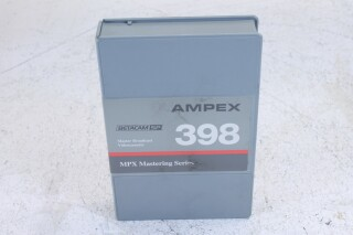 398 MPX mastering series betacam SP tape 30min no.3 K-18-6593-x