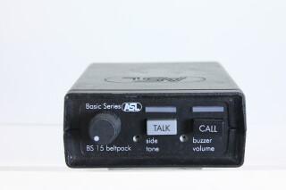 Intercom Beltpack BS15 no.3 HVR-FS3-3882 1