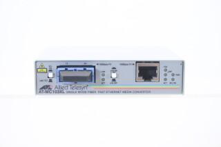 AT-MC103 XL Single Mode Fiber Fast Ethernet Media Converter JDH-C2-S-5804 4