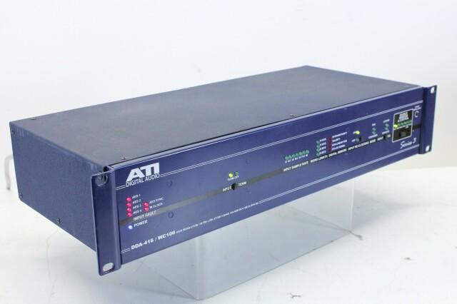 DDA-416/WC106 - AES/EBU & Wordclock Distribution Amp AXL4-PL1-12639-BV