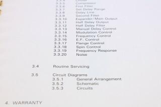 S 24 Time Shaper Module/ ADT Flanger Manual F-12984-BV 5