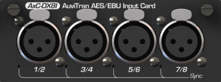 AxC-DX8I - AES-EBU Input Card for Audio Toolbox (No.1) AXL5-S-12818-bv 2