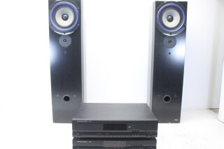 Allure Speakerset equipped with Bower & Wilkins BZ200/16 and Harman/Kardon HD710 and TU930 EV-Naast-T-5521 NEW