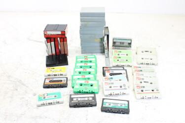 Assortment of BASF cassettes and boxes EV-P-6300