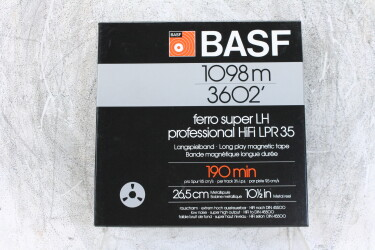"1098m 3602' UNUSED 1/4"" reel tape NAB Ferro LPR 35 (No.1) EV-P-6223 NEW"