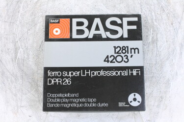 "1281m 4203' UNUSED 1/4"" reel tape NAB Ferro DPR 26 EV-P-6226 NEW"