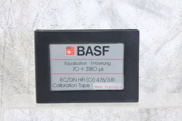 Calibration Tape Equalization 70 + 3180 µs Chrome EV-P-6248 NEW