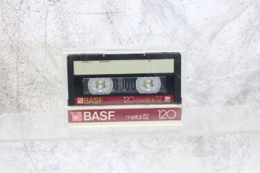 Cassette 120m Metal IV used EV-P-6245 NEW
