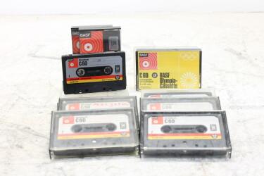 Cassette 60m C60 chromdioxid SM & LH USED (12 cassettes) EV-P-6297