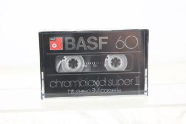 Cassette 60m chromdioxid super II SM NEW/SEALED EV-P-6272