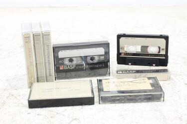 Cassette 60m chromdioxid super II SM USED (8 cassettes) EV-P-6295