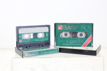 Cassette 60m ferro super LH1 USED (3 cassettes) EV-P-6289