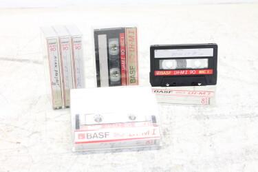 Cassette 90m LH-M I USED (8 cassettes) EV-P-6293