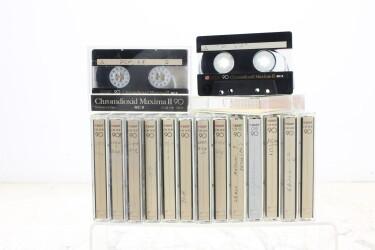 Chromdioxid 90m Maxima II USED (15 cassettes) EV-P-6274