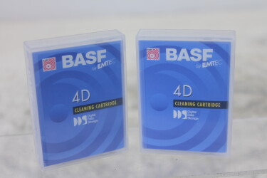 DAT DDS 4D Cleaning Cartridge (lot of 2 opened tapes) TCE-ZV14-MAND-6552 NEW
