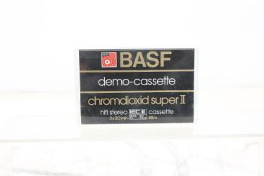 Demo-cassette Chromdioxid super II version 3 EV-P-6266
