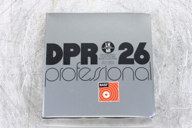 """DPR 26 900m USED 1/4"""" reel tape Double Play Tape DIN EV-P-6235 NEW"""