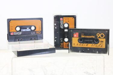 LH 90m SM cassettes USED (4 cassettes) EV-P-6285