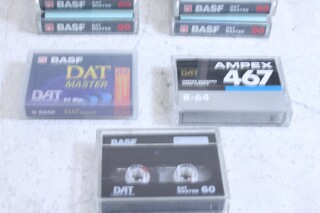 Lot with DAT tapes vary of brands. F-6-6544-x
