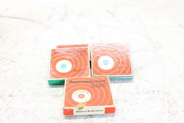 "Magnetophonband 1/4"" reel tape 3"" in box USED (5 reels) EV-P-6305"