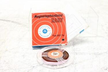 "Magnetophonband 1/4"" reel tape 4"" in box LGS 26 USED EV-P-6308"