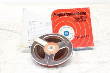 "Magnetophonband 1/4"" reel tape 5"" in box LGS 26 USED EV-P-6309"