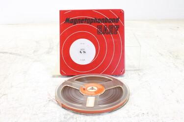 "Magnetophonband 1/4"" reel tape 7"" in plastic box USED EV-P-6313"