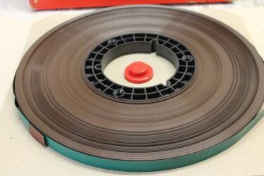 "SPR50 LH 1/2"" tape 10.5"" nab reel 730m USED TCE-ZV3-6748 NEW 2"